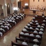Santa Missa concelebrada por todos os sacerdotes