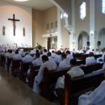 Meditação na capela