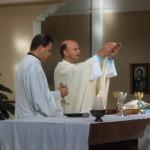 Missa Presidida por Pe. Francisco, Capelão da Aeronáutica