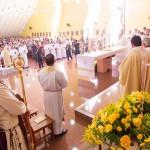 Ordenação diaconal Catedral Rainha da Paz